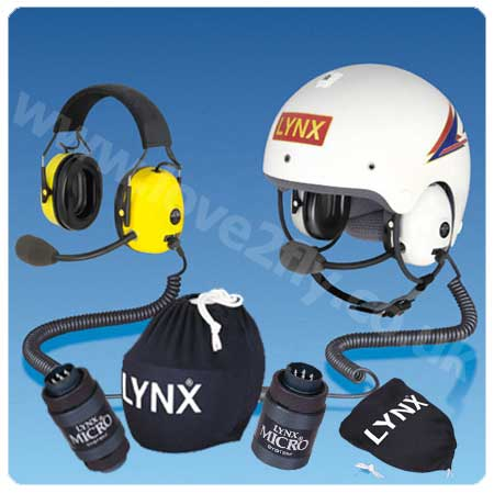 Lynx Avionics Add-on Headset & Helmet Package